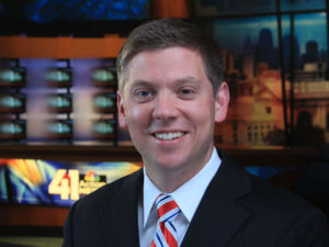 Award Winning reporter, Ryan Kath of 41 ActionNews, Kansas.