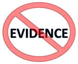No-Evidence