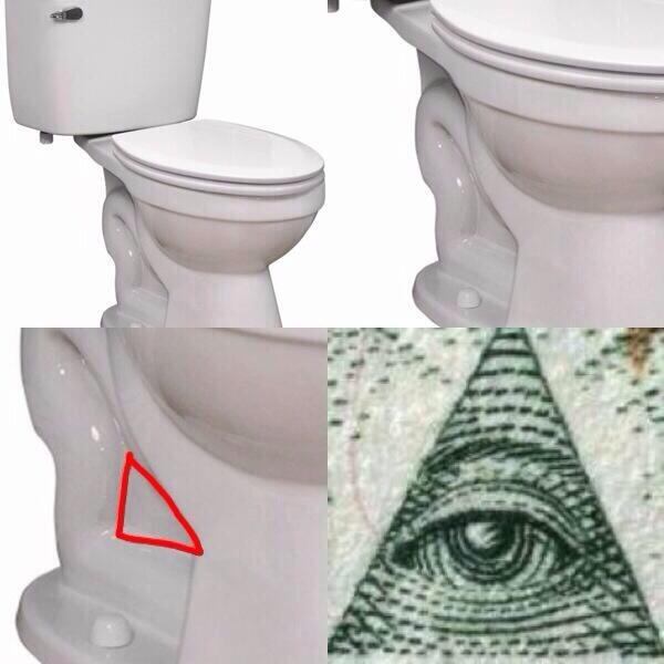 Conspiracy Crapper - you'll never squat quite the same ever again!