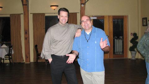 Peter Wink with fellow scammer Joe Vitale