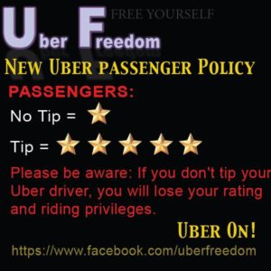 This is NOT an official Uber policy!