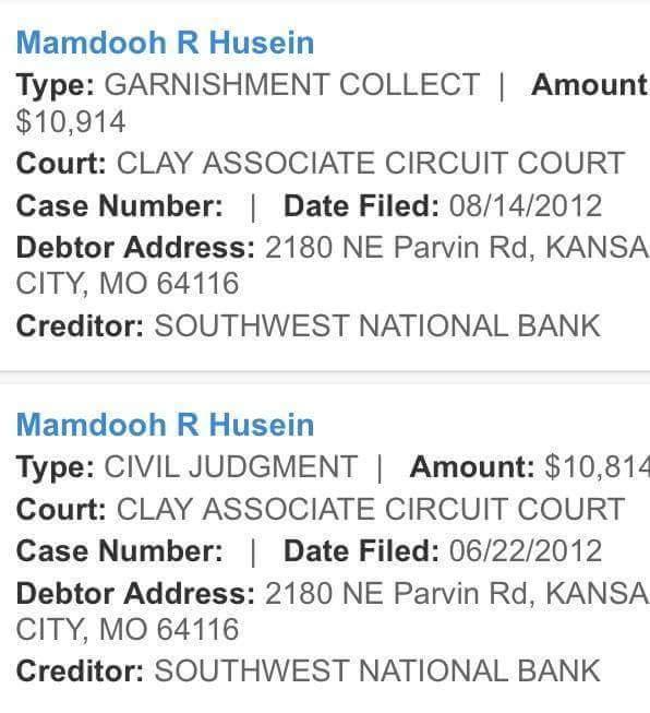 Former GIN debts?