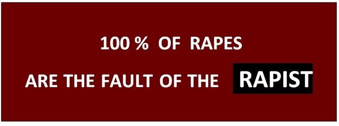 STOP BLAMING THE VICTIM!