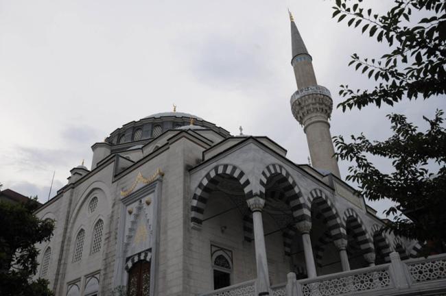 A Turkish Mosque in Tokyo.