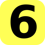 yellow-rounded-number-6-clip-art